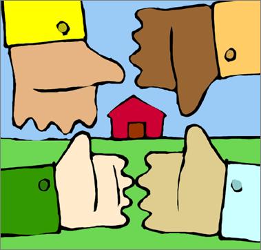 Rete di incontri di casa