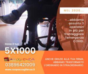 5x1000 a Casa Betania - assunzione nuovi operatori