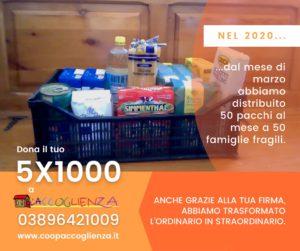 5x1000 a Casa Betania - pacchi alimentari